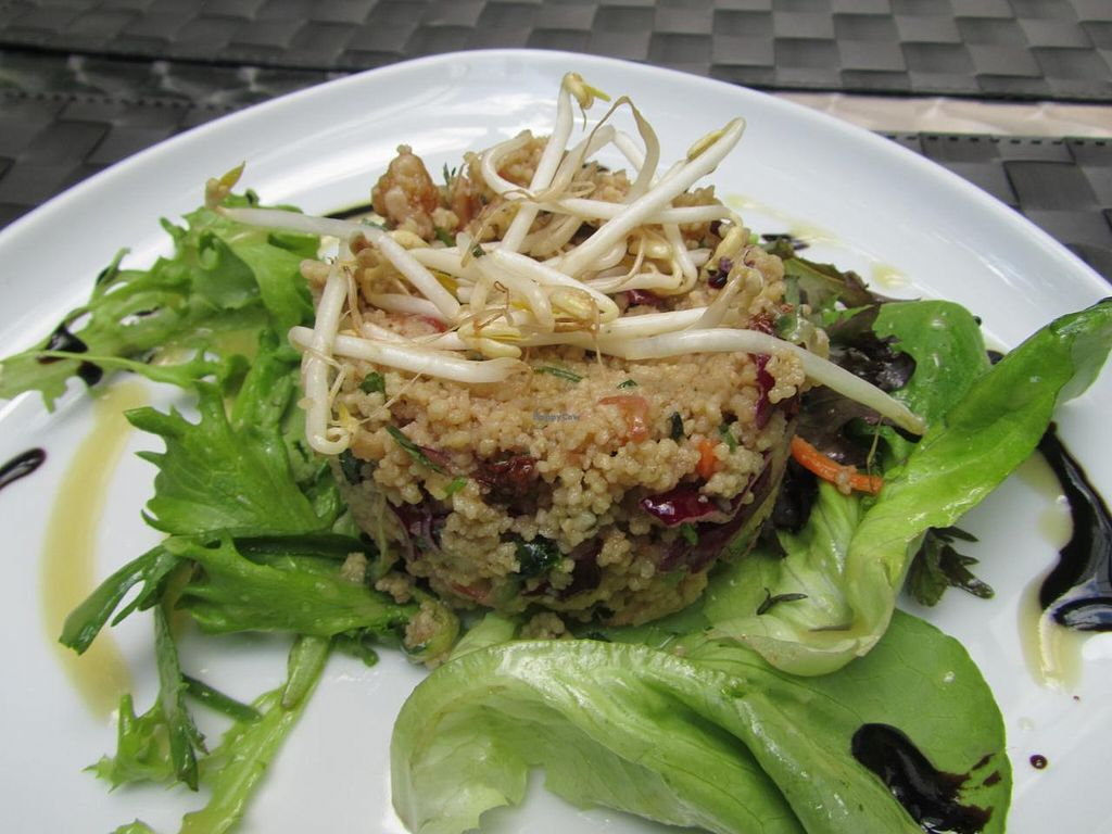"""Photo of CLOSED: La Mano Verde  by <a href=""""/members/profile/CLRtraveller"""">CLRtraveller</a> <br/>couscous salad <br/> December 29, 2013  - <a href='/contact/abuse/image/15835/61231'>Report</a>"""