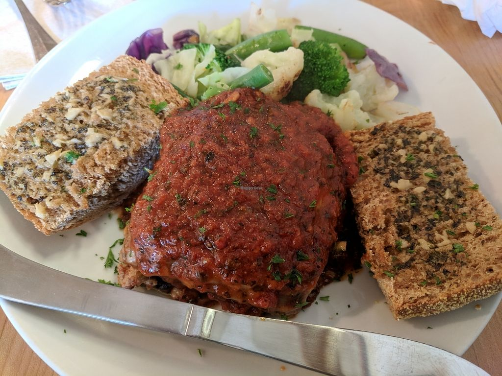 """Photo of Slice of Life  by <a href=""""/members/profile/Dafnag"""">Dafnag</a> <br/>vegan lasagna - so good! <br/> August 13, 2017  - <a href='/contact/abuse/image/1583/292130'>Report</a>"""
