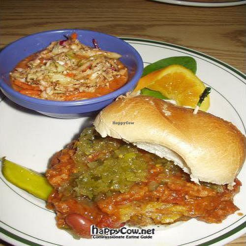 "Photo of Eden Vegan Cafe  by <a href=""/members/profile/PennsyltuckyVeggie"">PennsyltuckyVeggie</a> <br/>Chili Cheeseburger and Coleslaw <br/> October 27, 2011  - <a href='/contact/abuse/image/15842/11616'>Report</a>"
