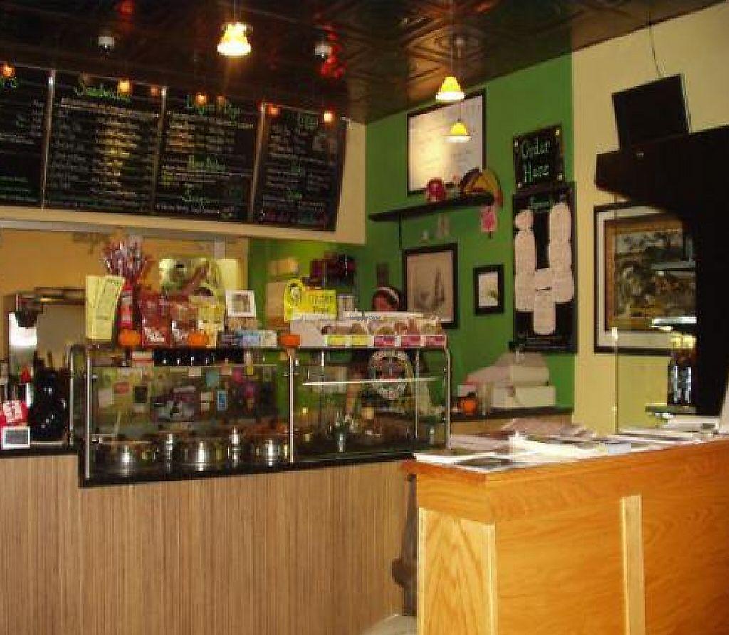 """Photo of Eden Vegan Cafe  by <a href=""""/members/profile/PennsyltuckyVeggie"""">PennsyltuckyVeggie</a> <br/>eden service counter <br/> October 27, 2011  - <a href='/contact/abuse/image/15842/188422'>Report</a>"""