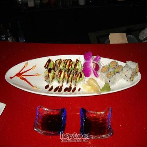 "Photo of CLOSED: Soy and Sake Village  by <a href=""/members/profile/Tiina"">Tiina</a> <br/>Dragon roll & Spicy Salmon roll <br/> January 9, 2009  - <a href='/contact/abuse/image/15880/1378'>Report</a>"