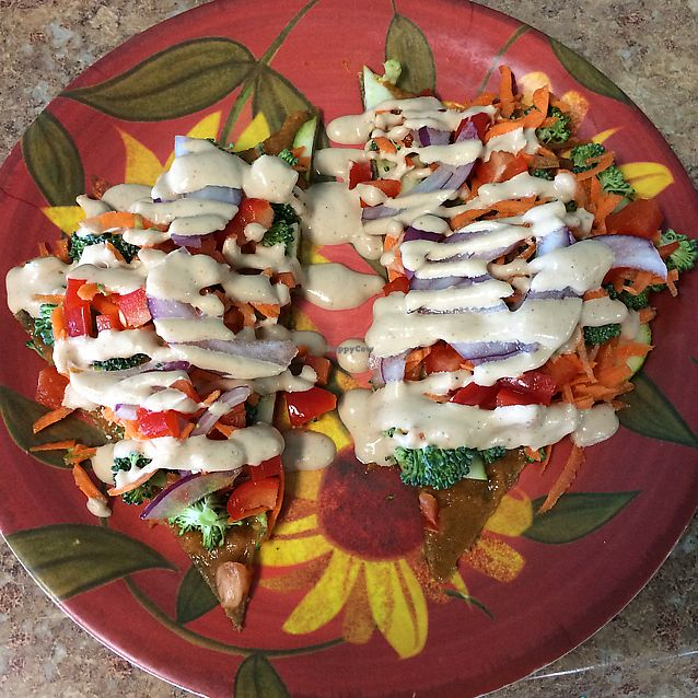 """Photo of Cafe Life  by <a href=""""/members/profile/KatieBush"""">KatieBush</a> <br/>raw pizza <br/> July 7, 2017  - <a href='/contact/abuse/image/15964/277597'>Report</a>"""