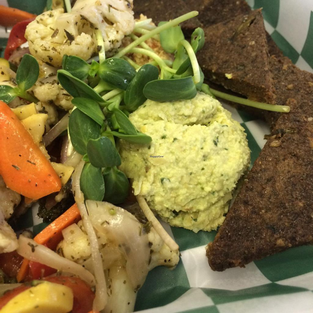 """Photo of Cafe Life  by <a href=""""/members/profile/MeganSpray"""">MeganSpray</a> <br/>Veggie and Hummus plate!! <br/> March 12, 2014  - <a href='/contact/abuse/image/15964/65745'>Report</a>"""