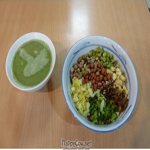 "Photo of Create Healthy Lifestyle  by <a href=""/members/profile/pegasus2012"">pegasus2012</a> <br/>Traditional Hakka Lei-Cha set meal with basil/mint-based soup <br/> November 23, 2008  - <a href='/contact/abuse/image/15989/1263'>Report</a>"