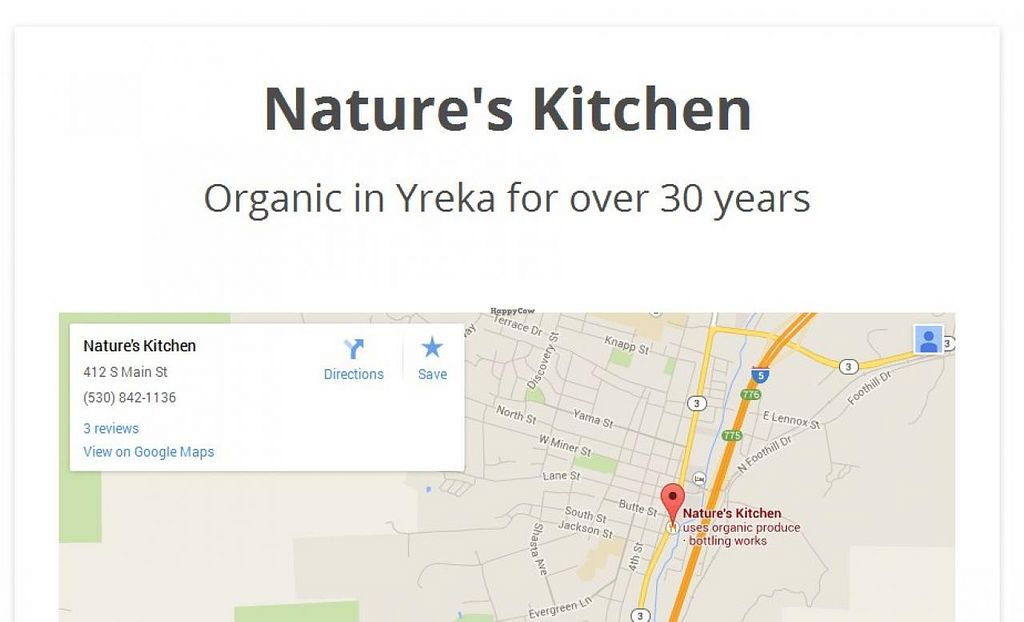 """Photo of Nature's Kitchen and Market  by <a href=""""/members/profile/community"""">community</a> <br/>Nature's Kitchen and Market <br/> September 3, 2014  - <a href='/contact/abuse/image/1598/78923'>Report</a>"""