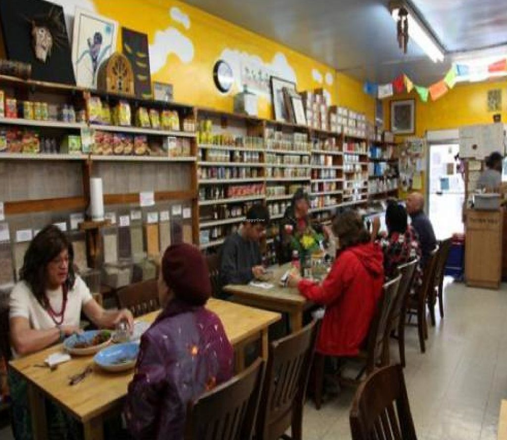 """Photo of Oh Happy Days Vegan Cafe  by <a href=""""/members/profile/quarrygirl"""">quarrygirl</a> <br/>interior <br/> January 17, 2012  - <a href='/contact/abuse/image/1601/187783'>Report</a>"""