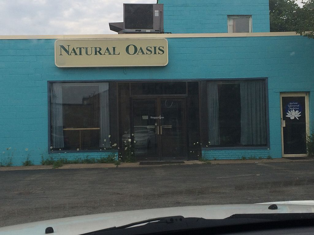 """Photo of Natural Oasis Cafe  by <a href=""""/members/profile/fruitiJulie"""">fruitiJulie</a> <br/>outside  <br/> July 23, 2017  - <a href='/contact/abuse/image/16082/284024'>Report</a>"""