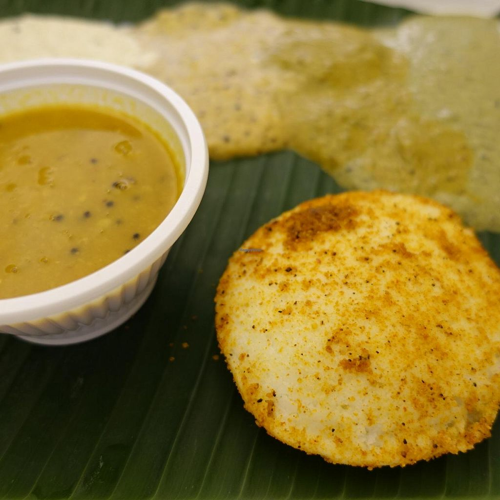 """Photo of Murugan Idli Shop  by <a href=""""/members/profile/JimmySeah"""">JimmySeah</a> <br/>Ghee Podi idli - Perfect! Strongly recommends.  <br/> May 18, 2015  - <a href='/contact/abuse/image/16090/102623'>Report</a>"""
