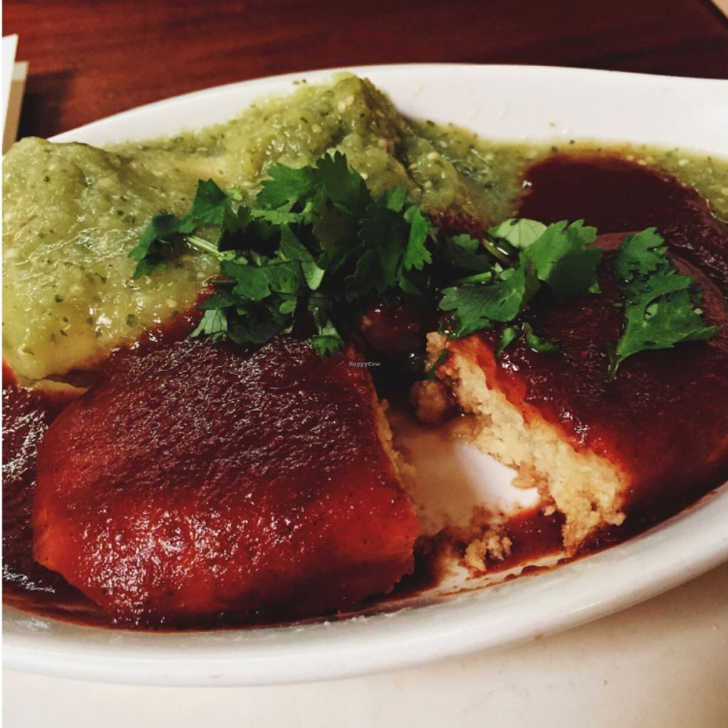 """Photo of Follow Your Heart Restaurant and Market  by <a href=""""/members/profile/Michelleykat"""">Michelleykat</a> <br/>vegan tamales. the best ones I ever had!  <br/> October 25, 2015  - <a href='/contact/abuse/image/1609/122690'>Report</a>"""