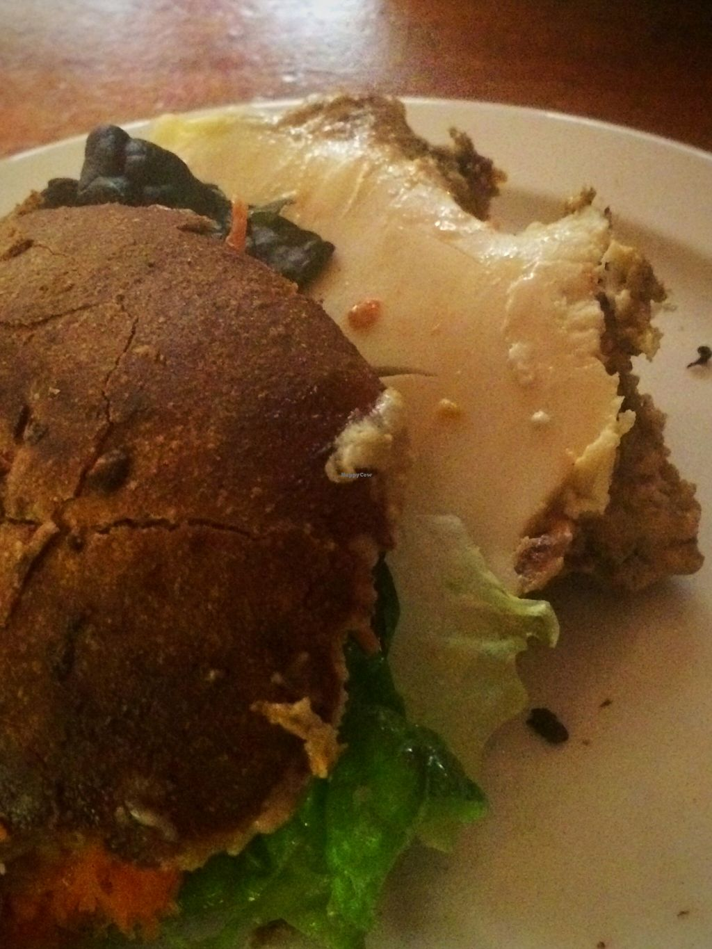 """Photo of Follow Your Heart Restaurant and Market  by <a href=""""/members/profile/serrarose"""">serrarose</a> <br/>Nutburgar Supreme (so yummy) <br/> December 27, 2015  - <a href='/contact/abuse/image/1609/130044'>Report</a>"""