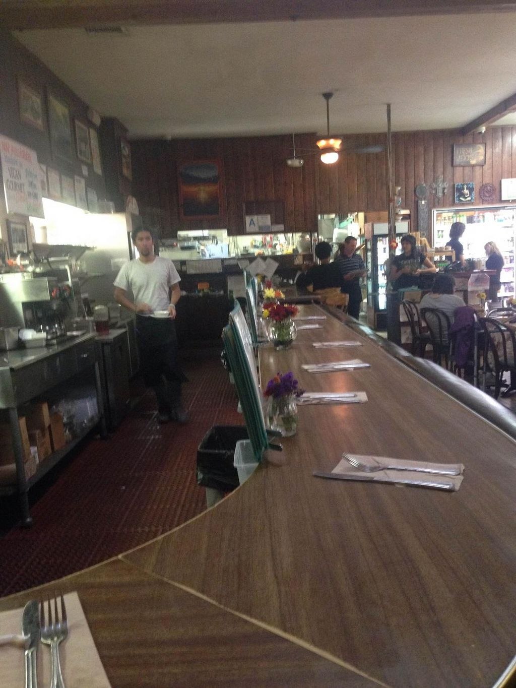 """Photo of Follow Your Heart Restaurant and Market  by <a href=""""/members/profile/Veg4ever"""">Veg4ever</a> <br/>I this this might be the original bar, This place has been around for quite a while. They are well-known for inventing Vegenaise <br/> January 24, 2015  - <a href='/contact/abuse/image/1609/91252'>Report</a>"""