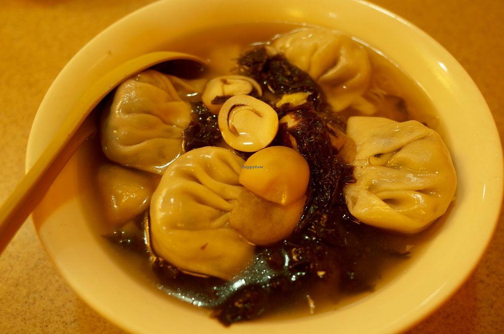 "Photo of Golden Vegetarian Food  by <a href=""/members/profile/ouikouik"">ouikouik</a> <br/>dumpling noodle soup (hkd42) <br/> October 17, 2015  - <a href='/contact/abuse/image/16145/121628'>Report</a>"