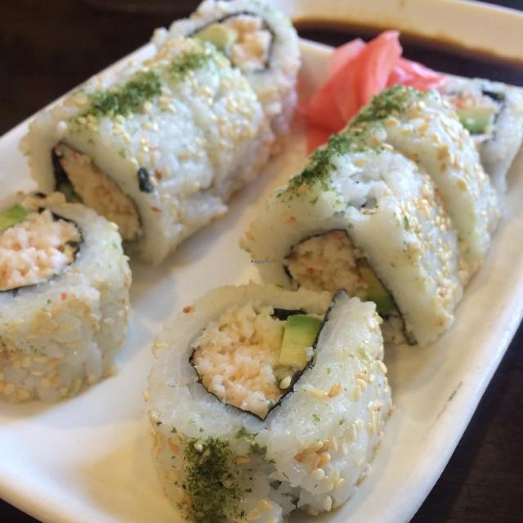"""Photo of Vege Paradise  by <a href=""""/members/profile/HappyVeggieDude"""">HappyVeggieDude</a> <br/>California Roll <br/> September 16, 2014  - <a href='/contact/abuse/image/16204/80149'>Report</a>"""