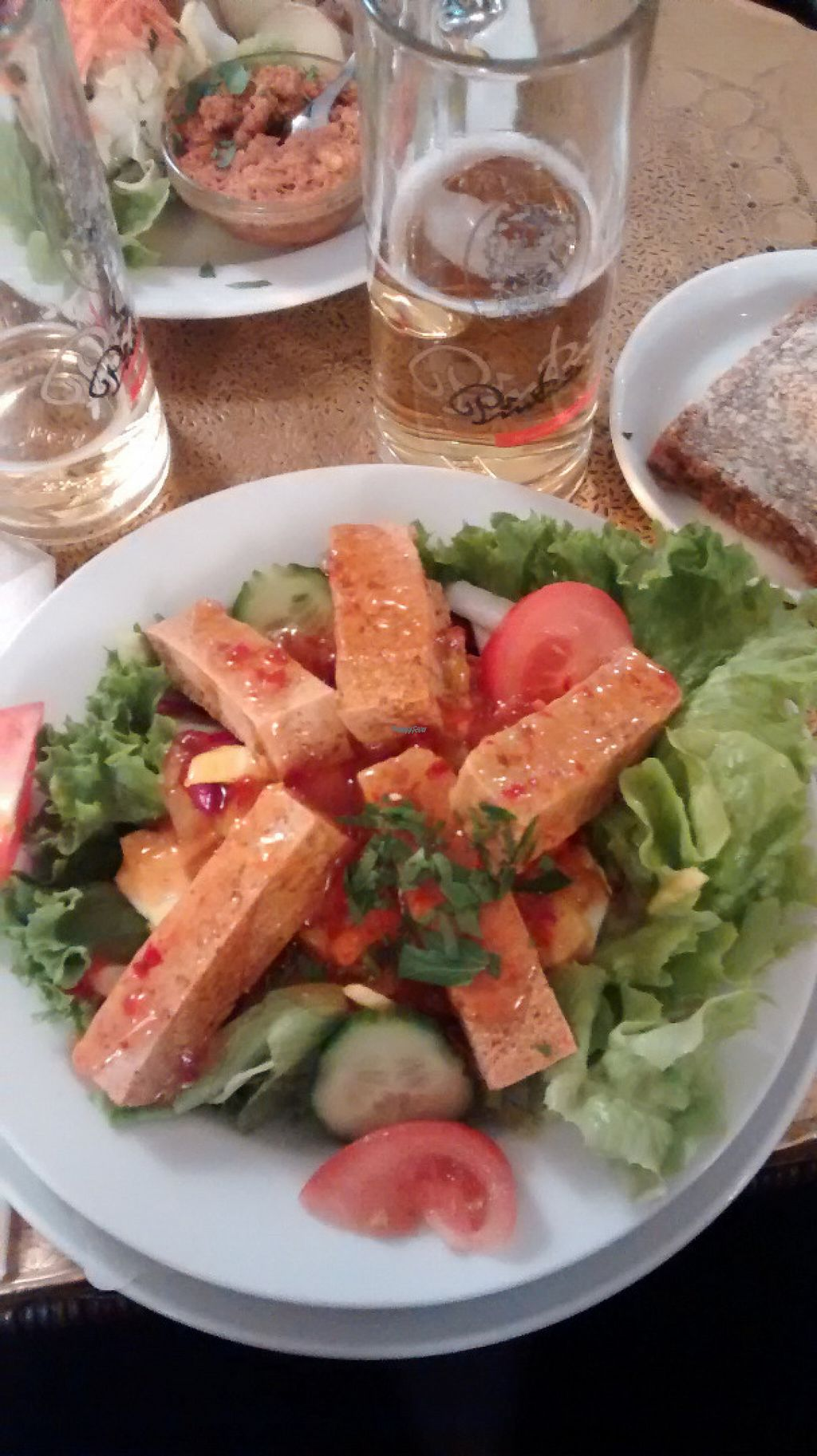 "Photo of Cafe Koppel  by <a href=""/members/profile/BlisterBlue"">BlisterBlue</a> <br/>The vegan tofu salad <br/> November 2, 2016  - <a href='/contact/abuse/image/16259/186114'>Report</a>"