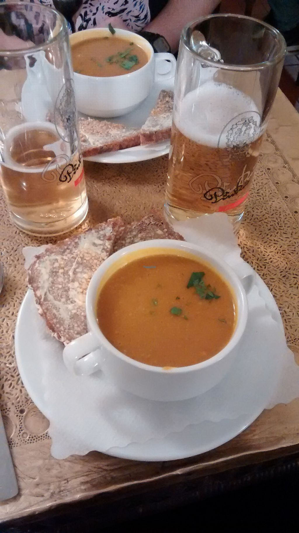 "Photo of Cafe Koppel  by <a href=""/members/profile/BlisterBlue"">BlisterBlue</a> <br/>Soup of the day (pumpkin and spices), delicious! <br/> November 2, 2016  - <a href='/contact/abuse/image/16259/186116'>Report</a>"
