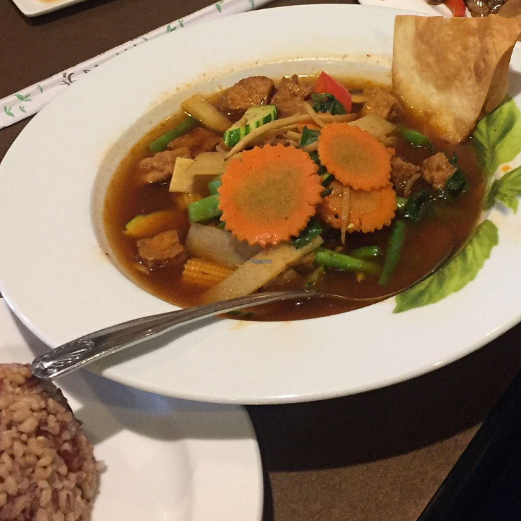 """Photo of Best Thai Addison  by <a href=""""/members/profile/LinnDaugherty"""">LinnDaugherty</a> <br/>jungle curry vegan <br/> January 3, 2017  - <a href='/contact/abuse/image/16277/207764'>Report</a>"""
