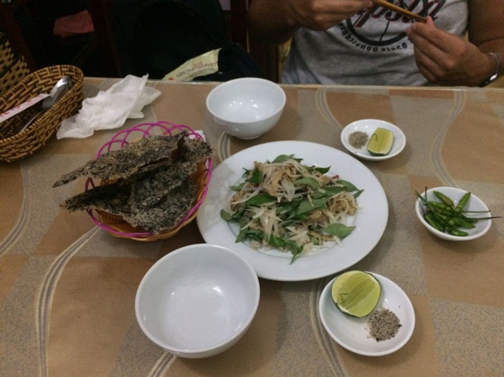 """Photo of Co Tam  by <a href=""""/members/profile/JorgeReis"""">JorgeReis</a> <br/>""""chicken"""" salad <br/> July 15, 2016  - <a href='/contact/abuse/image/16292/160052'>Report</a>"""