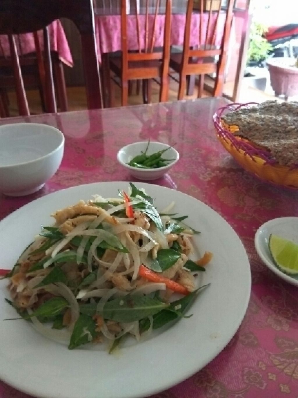 """Photo of Co Tam  by <a href=""""/members/profile/MrGee"""">MrGee</a> <br/>mock chicken salad <br/> November 17, 2016  - <a href='/contact/abuse/image/16292/191157'>Report</a>"""