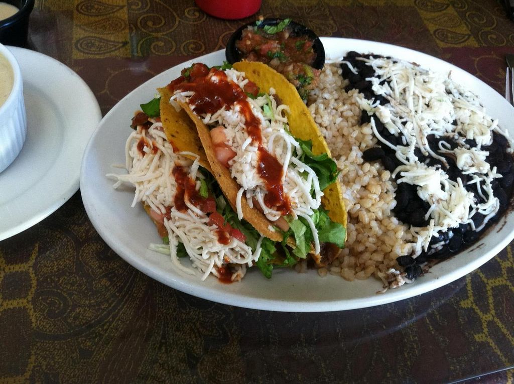 "Photo of The Spot Natural Foods  by <a href=""/members/profile/brandalock"">brandalock</a> <br/>Vegan Tacos <br/> July 8, 2014  - <a href='/contact/abuse/image/1633/73560'>Report</a>"