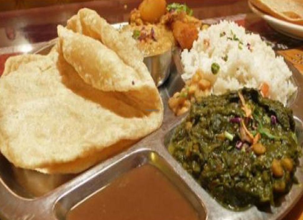 """Photo of Paru's Vegetarian Indian Restaurant  by <a href=""""/members/profile/quarrygirl"""">quarrygirl</a> <br/>Punjab Glory - photo by MR MEANER <br/> January 17, 2012  - <a href='/contact/abuse/image/1634/187829'>Report</a>"""