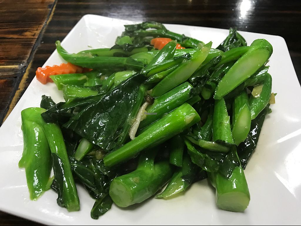 """Photo of CLOSED: Feng Cheng Xuan  by <a href=""""/members/profile/marukochan"""">marukochan</a> <br/>stir fried kai lan with ginger <br/> February 20, 2017  - <a href='/contact/abuse/image/16368/228394'>Report</a>"""