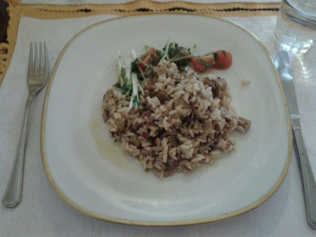 "Photo of El Celler de Triton  by <a href=""/members/profile/Debbie%20Lloret"">Debbie Lloret</a> <br/>Veggie rice with seitan (wheat gluten) <br/> May 3, 2015  - <a href='/contact/abuse/image/16418/101012'>Report</a>"