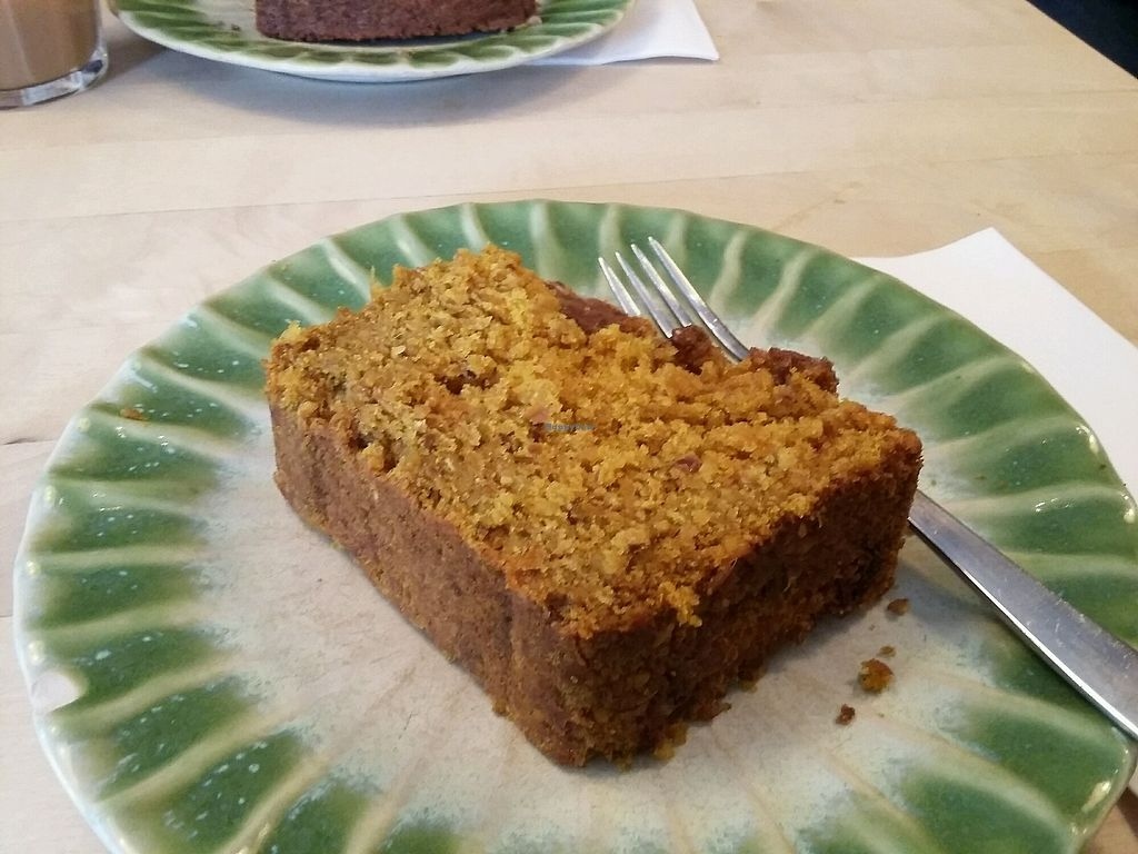 """Photo of Tushita Teehaus  by <a href=""""/members/profile/Peanuts"""">Peanuts</a> <br/>carrot ginger cake (....try it!)  <br/> November 27, 2017  - <a href='/contact/abuse/image/16425/329846'>Report</a>"""