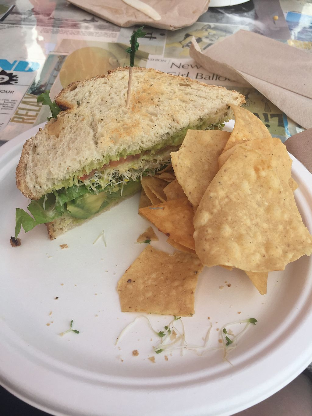 """Photo of The Stand  by <a href=""""/members/profile/AngieLupusLife"""">AngieLupusLife</a> <br/>avocado sandwich and chips <br/> July 24, 2017  - <a href='/contact/abuse/image/1645/284099'>Report</a>"""