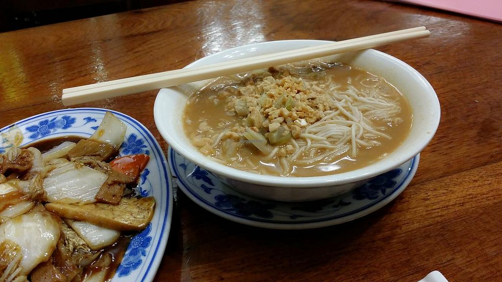 """Photo of Shanghai Yuen Vegetarian  by <a href=""""/members/profile/jungsiah"""">jungsiah</a> <br/>Noodles in soup <br/> May 1, 2015  - <a href='/contact/abuse/image/16464/100861'>Report</a>"""