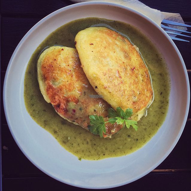 "Photo of Arbatine  by <a href=""/members/profile/GiedriusDagys"">GiedriusDagys</a> <br/>potato pancacke with spinach <br/> August 27, 2016  - <a href='/contact/abuse/image/16477/171762'>Report</a>"