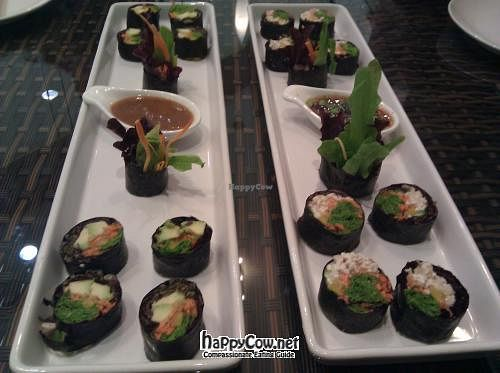 """Photo of CLOSED: Ariya's Organic Place  by <a href=""""/members/profile/eric"""">eric</a> <br/>sushi <br/> May 6, 2012  - <a href='/contact/abuse/image/16517/31578'>Report</a>"""