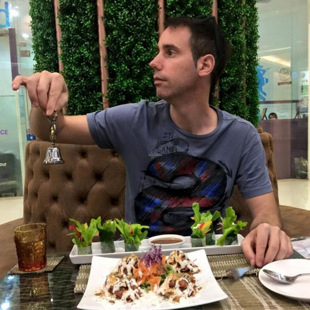 """Photo of CLOSED: Ariya's Organic Place  by <a href=""""/members/profile/YahelSherman"""">YahelSherman</a> <br/>amazing Raw/Vegan Pizza& spring roll <br/> March 24, 2015  - <a href='/contact/abuse/image/16517/96806'>Report</a>"""