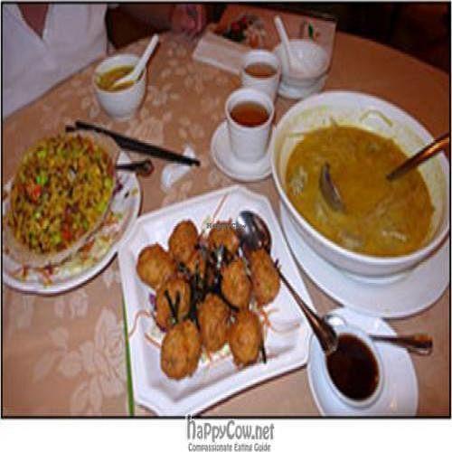 "Photo of Paramita Vegetarian Restaurant - Tsim Sha Tsui  by <a href=""/members/profile/htenbos"">htenbos</a> <br/>3 Vegetarian dishes from Paramita <br/> July 5, 2009  - <a href='/contact/abuse/image/16569/2192'>Report</a>"