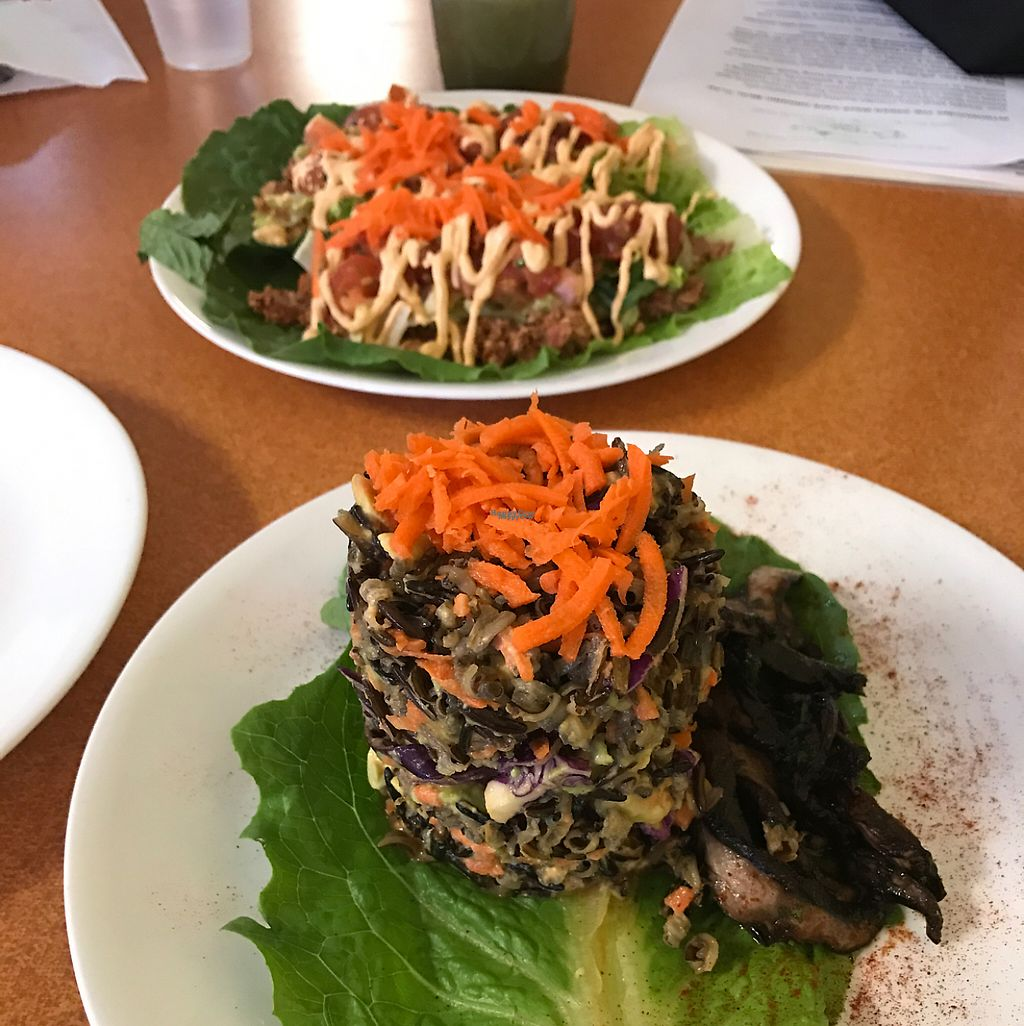 """Photo of Green Wave Cafe  by <a href=""""/members/profile/JohannaHoffmann"""">JohannaHoffmann</a> <br/>""""steak""""Teriyaki and Boat Tacos  <br/> January 15, 2017  - <a href='/contact/abuse/image/16595/212268'>Report</a>"""