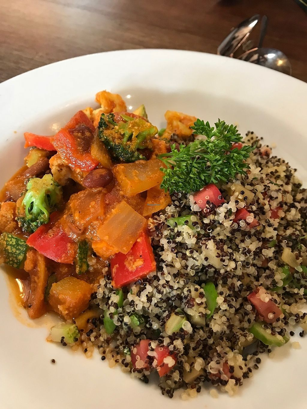 Photo of Greens Organic  by MollyMarshall <br/>Curry Dish <br/> April 10, 2018  - <a href='/contact/abuse/image/16598/383335'>Report</a>