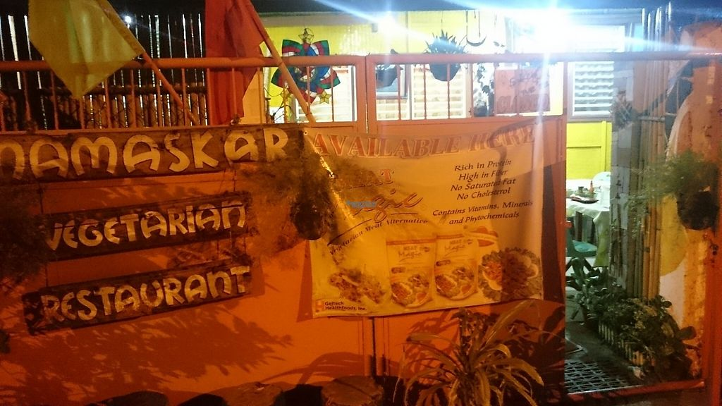 """Photo of Namaskar Vegetarian Restaurant  by <a href=""""/members/profile/peas-full"""">peas-full</a> <br/>Outside <br/> December 12, 2016  - <a href='/contact/abuse/image/16638/200207'>Report</a>"""