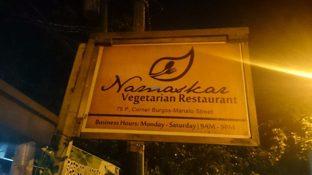 """Photo of Namaskar Vegetarian Restaurant  by <a href=""""/members/profile/peas-full"""">peas-full</a> <br/>Info December 2016 <br/> December 12, 2016  - <a href='/contact/abuse/image/16638/200208'>Report</a>"""