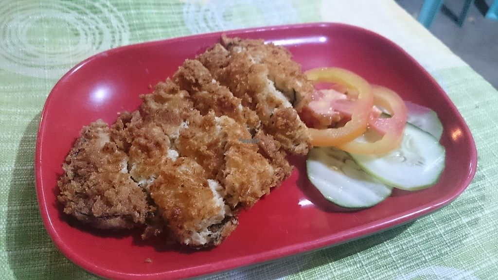 """Photo of Namaskar Vegetarian Restaurant  by <a href=""""/members/profile/peas-full"""">peas-full</a> <br/>Fried fishy protein <br/> December 12, 2016  - <a href='/contact/abuse/image/16638/200209'>Report</a>"""