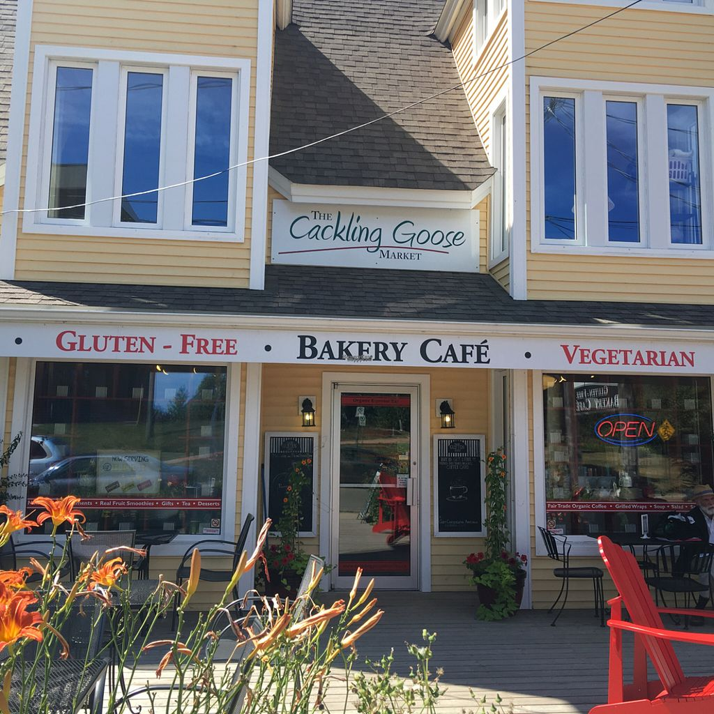 """Photo of The Cackling Goose Market and Bakery Cafe  by <a href=""""/members/profile/Nourished"""">Nourished</a> <br/>both a restaurant and health food store <br/> August 10, 2016  - <a href='/contact/abuse/image/16640/167546'>Report</a>"""
