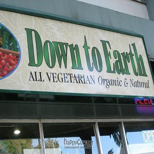 """Photo of Down to Earth Organic & Natural  by <a href=""""/members/profile/cvxmelody"""">cvxmelody</a> <br/>Photo of shop sign <br/> December 23, 2009  - <a href='/contact/abuse/image/16644/3159'>Report</a>"""