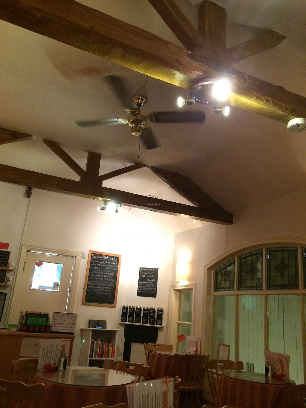 """Photo of Ginger Vegetarian Cafe  by <a href=""""/members/profile/Hoggy"""">Hoggy</a> <br/>Inside the Ginger Vegetarian Cafe <br/> July 23, 2017  - <a href='/contact/abuse/image/16682/283770'>Report</a>"""