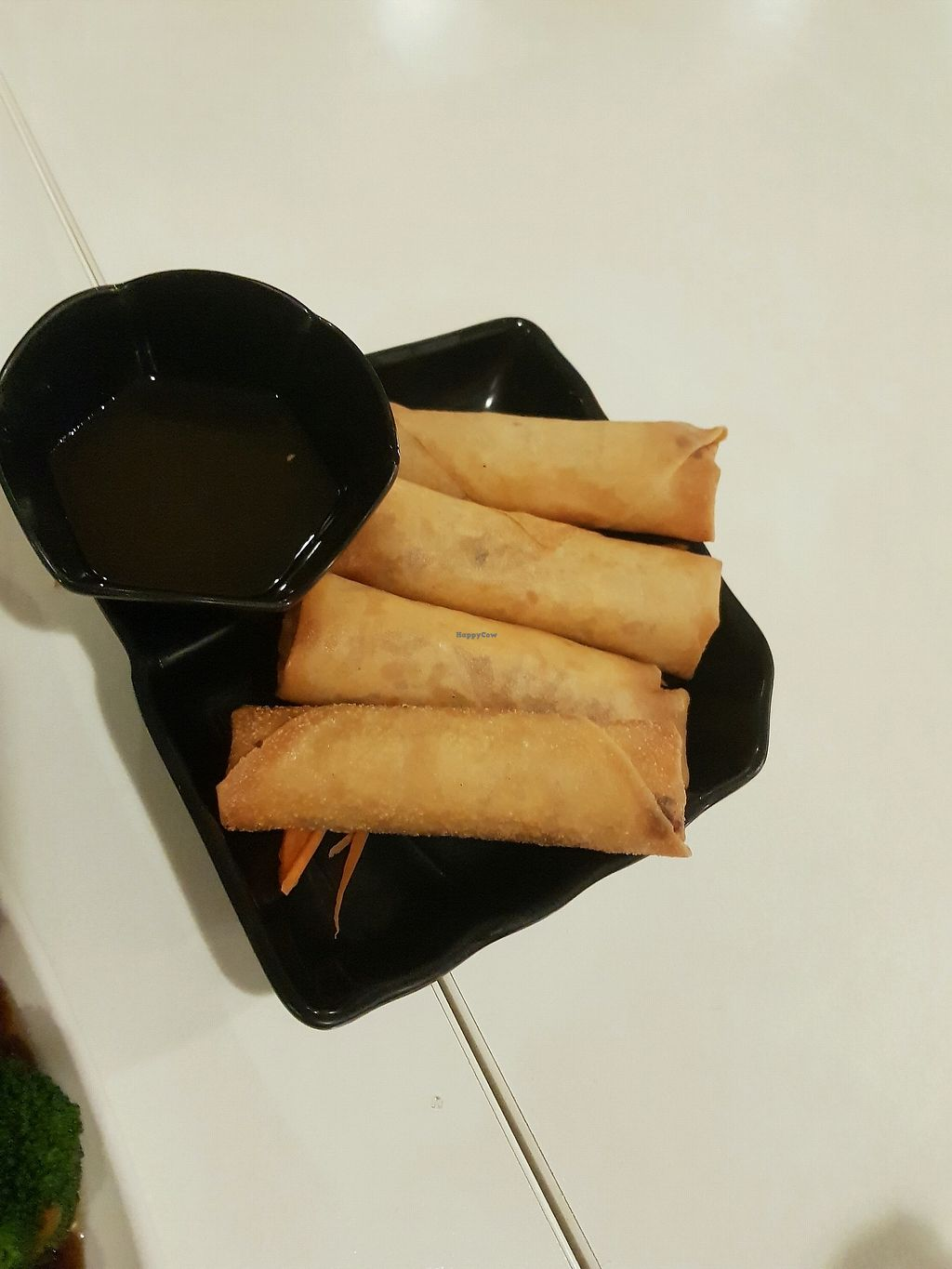 "Photo of Loving Hut  by <a href=""/members/profile/Cynthiab"">Cynthiab</a> <br/>spring rolls <br/> April 13, 2018  - <a href='/contact/abuse/image/16703/385364'>Report</a>"
