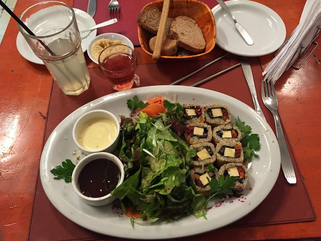 """Photo of CLOSED: Buenos Aires Verde - Gorriti  by <a href=""""/members/profile/beckettthedog"""">beckettthedog</a> <br/>Sushi roll <br/> July 3, 2015  - <a href='/contact/abuse/image/16747/108073'>Report</a>"""