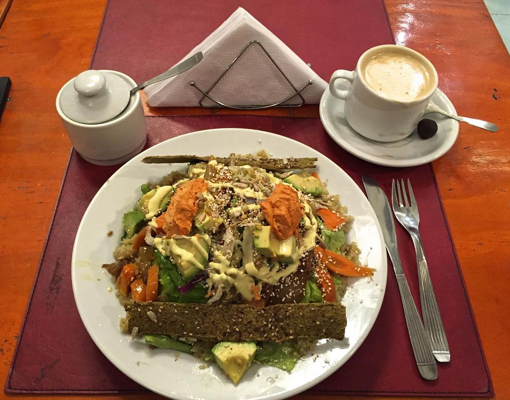 """Photo of CLOSED: Buenos Aires Verde - Gorriti  by <a href=""""/members/profile/beckettthedog"""">beckettthedog</a> <br/>ensalada full aminoácidos.  Brilliant <br/> July 3, 2015  - <a href='/contact/abuse/image/16747/108074'>Report</a>"""