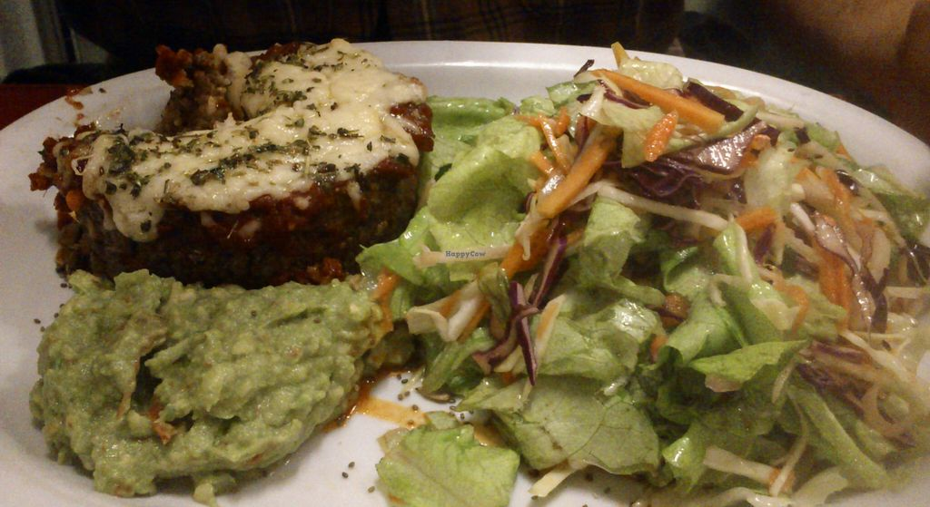 """Photo of CLOSED: Buenos Aires Verde - Gorriti  by <a href=""""/members/profile/citizenInsane"""">citizenInsane</a> <br/>Millet burger & salad <br/> August 12, 2015  - <a href='/contact/abuse/image/16747/113276'>Report</a>"""