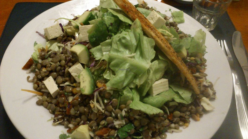 """Photo of CLOSED: Buenos Aires Verde - Gorriti  by <a href=""""/members/profile/citizenInsane"""">citizenInsane</a> <br/>'super protein' lentil / tofu salad <br/> August 12, 2015  - <a href='/contact/abuse/image/16747/113277'>Report</a>"""