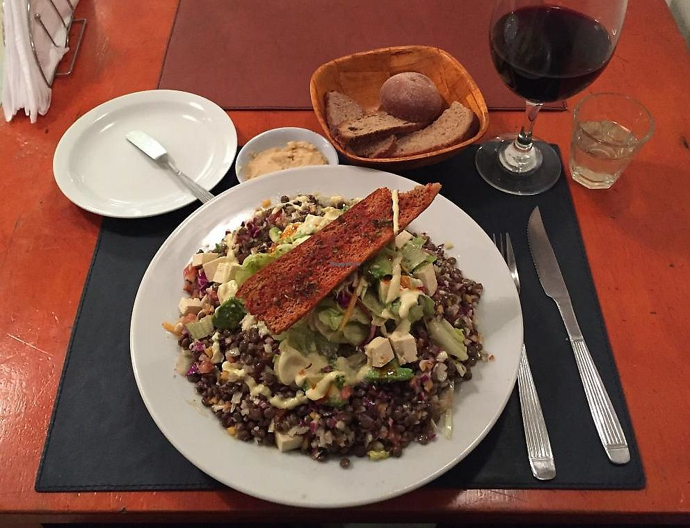 """Photo of CLOSED: Buenos Aires Verde - Gorriti  by <a href=""""/members/profile/beckettthedog"""">beckettthedog</a> <br/>ensalada súper proteica  <br/> July 3, 2015  - <a href='/contact/abuse/image/16747/283997'>Report</a>"""