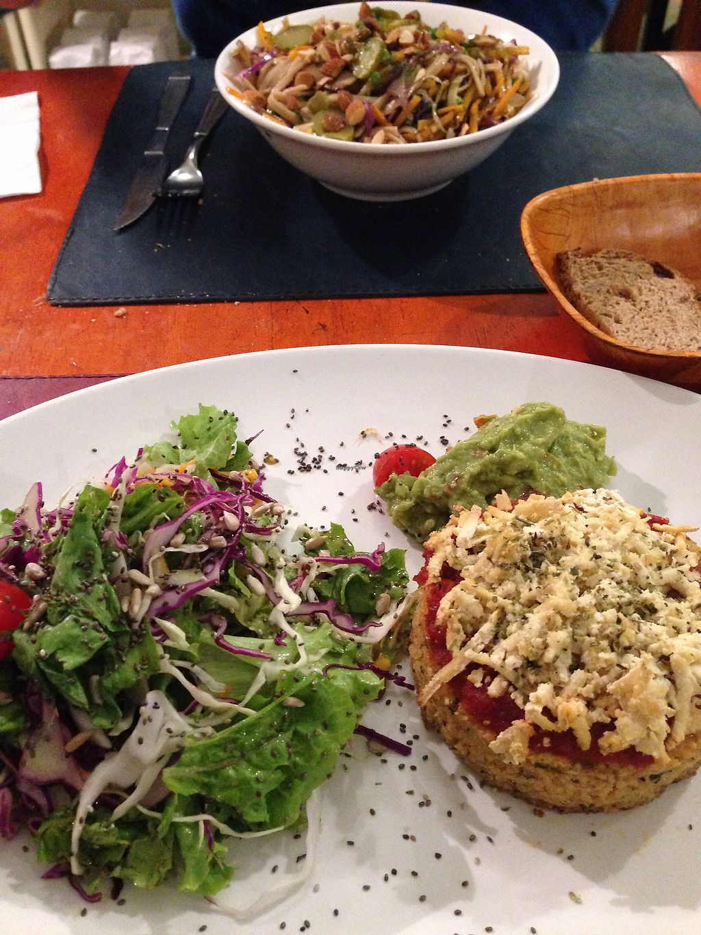 """Photo of CLOSED: Buenos Aires Verde - Gorriti  by <a href=""""/members/profile/Calandria"""">Calandria</a> <br/>Mijo burger & veggie wok <br/> January 6, 2018  - <a href='/contact/abuse/image/16747/343673'>Report</a>"""