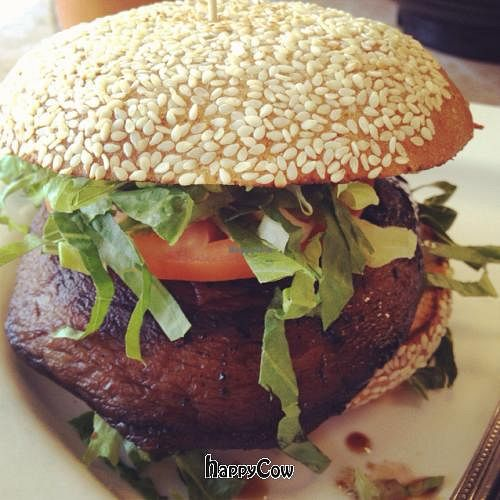 """Photo of My Vegan  by <a href=""""/members/profile/s2huang"""">s2huang</a> <br/>Portabello mushroom burger  <br/> September 19, 2012  - <a href='/contact/abuse/image/16814/38012'>Report</a>"""