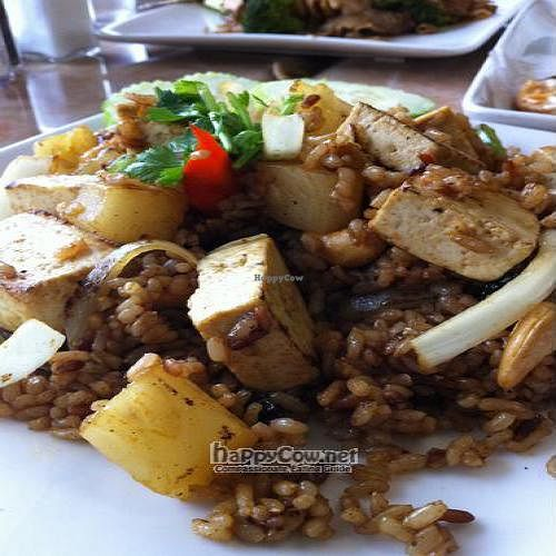 """Photo of My Vegan  by <a href=""""/members/profile/jennamichelle1"""">jennamichelle1</a> <br/>Pineapple Fried Rice <br/> July 17, 2011  - <a href='/contact/abuse/image/16814/9691'>Report</a>"""